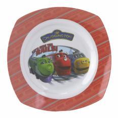 Chuggington Melamine Square Soup Plate
