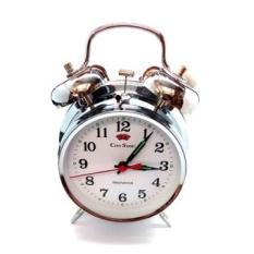City Sonic WZ002-B Mekanis Tradisional Alarm Clock (Perak)-Intl