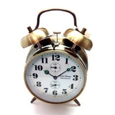 City Sonic WZ009-D Jam Alarm Mekanis (Brassy)-Intl
