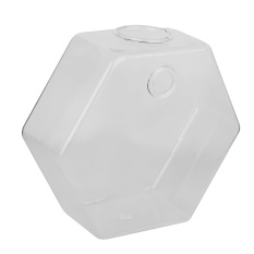 Harga Jelas Berbentuk Hexagon Vas Gantung Pabrik Botol Kaca Untuk Dekorasi Bunga L Baru