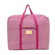 Clearance Harga Sunweb Home Travel Pakaian Selimut Selimut Zipper Storage Bag Waterproof Oxford Cloth (Pink)-Intl