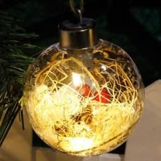 Clearance Harga Sunweb LED Lampu Hias Bola Lampu Natal Indoor Outdoor Party Light Decoration (Kuning)-Intl
