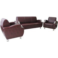 Clianta Sofa Set Disha 3-1-1 (Maroon Washed)