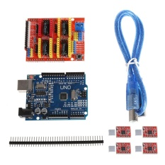Cnc Shield V3 3D Printer 4Xa4988 Driver Uno R3 Untuk Arduino W Usb Kabel Intl Oem Diskon
