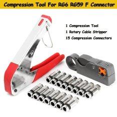 Spesifikasi Coaxial Alat Kompresi Untuk Rg59 Rg6 Bnc Rca Konektor Coax Crimper F Jenis Internasional Lengkap