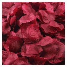 Coconie 1000 Buah Sutra Mawar Bunga Buatan Partai Pernikahan Jasa Dekorasi Bunga Anggur