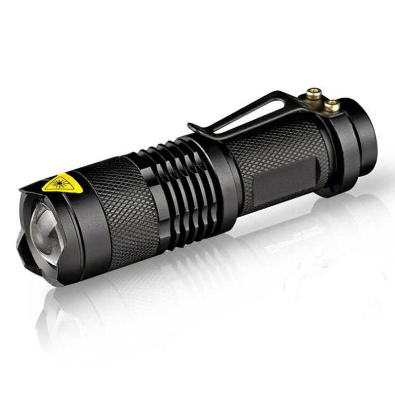 Coconie 300LM Mini Cree Q5 LED Senter Torch Adjustable Fokus Lampu Zoom Lampu   Lazada Indonesia