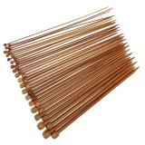 Jual Cocotina 36 Buah 18 Ukuran 2 10 Mm Karbonisasi Rajut Bambu Runcing Jarum Rajut Tunggal 25 Cm L Cocotina Original
