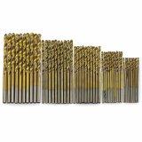Cocotina 50 Pcs Titanium Dilapisi Hss Memutar Bor Bit Alat Set 1 1 5 2 2 5 3Mm Cocotina Diskon 30