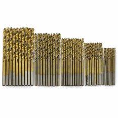 Cara Beli Cocotina 50 Pcs Titanium Dilapisi Hss Memutar Bor Bit Alat Set 1 1 5 2 2 5 3Mm