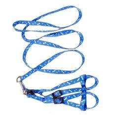 Harga Hemat Cocotina Harness Yang Dapat Disesuaikan Dengan Tali Tuntun Biru