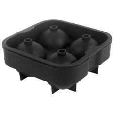 Cocotina Cube Pembuat Es Bola Jamur (Hitam)