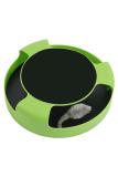 Toko Cocotina Perlengkapan Pet Lucu Plastik Cat Toy Dengan Rotating Spinning Mouse Kitten Bermain Mainan Goresan Pad Hijau Online Di Hong Kong Sar Tiongkok