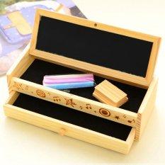 Beli Cocotina Multifungsi Sekolah Tempat Pensil Case Pena Kayu Antik Kotak Kayu Tas Alat Tulis Pake Kartu Kredit