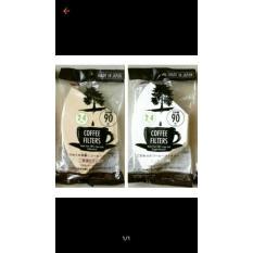 Coffee Filter (Kertas Seduh Kopi) 2-4 Cups- 90 Sheets - 2Mlolj