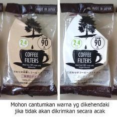 Beli Coffee Paper Filter For Coffee 90 Pcs Saringan Kopi Merek Daiso Daiso Japan Online