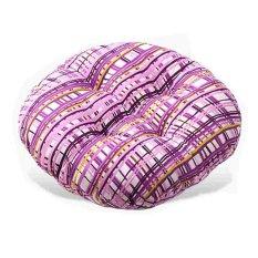 Colorful Bantal Cushion Rumah Sofa Kantor Mobil Kursi Belakang Bantal Buttock Pad (Hitam)