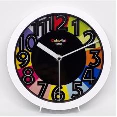 Harga Termurah Jam Meja Jam Dinding Colourful Putih On Time