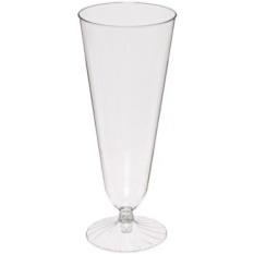 Komet 2-Piece Plastik Bir Pilsner Glass, 12-Ounce, Clear (250-Count) -Intl