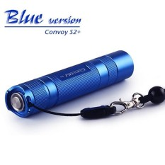 Convoy S2 + Biru XM-L2 7135X8 3/5 Mode EDC LED Senter-Internasional