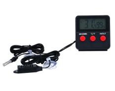 Coobonf Reptil Vivarium Terarium Termometer Higrometer dengan Sensor Jarak Jauh-Internasional
