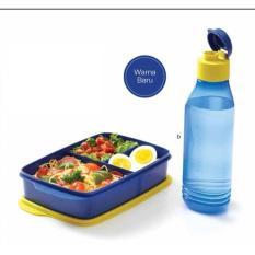 Jual Cool Teen Hijau 2Pcs Kotak Makan Dan Botol Minum Antik