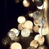 Perbandingan Harga Cotton Ball Light Led Lampu Led Tumblr Benang Lampion Gantung Hias Warna Abu Abu Grey Tone For Decor Di Jawa Timur