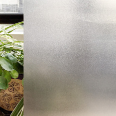 CottonColors Premium Non-Adhesive Frosted Privacy Window Film, 3Ft X 6.5Ft.(90 x 200Cm) - intl