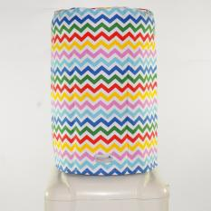 Cover Galon / Cover dispenser / Sarung galon - Chevron Rainbow
