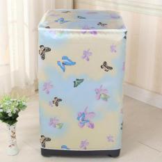 HW Cover Mesin Cuci Buka Atas Type A - Kupu Kupu