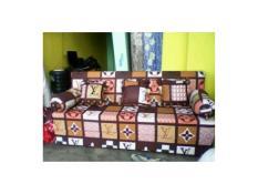 Cover Sofa Bed inoac uk 200x160x20 motif random
