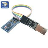 Diskon Cp2102 Modul Pro Mini Modul Atmega328 5 V 16 M Untuk Arduino Kompatibel Dengan Nano Intl Oem