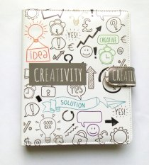 Spek Crable Stationery Binder Creativity A5 White Crable Stationery