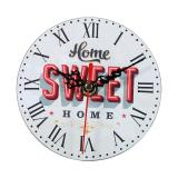 Kreatif Antik Wall Clock Vintage Kayu Putaran Jam Rumah Dekorasi 7 Intl Di Tiongkok