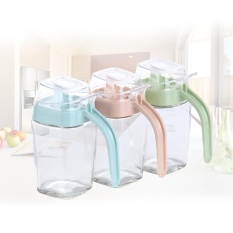 Alat Dapur Kreatif Kaca Bocor Kapal Tangki Minyak dan Botol Cuka Minyak Wijen Bot-Intl