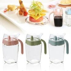 Kebutuhan Dapur Kaca Bocor Oiler Oil And Vinegar Botol Minyak Wijen Bot-Intl