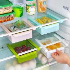 Kreatif Meluncur Ke Dapur Kulkas Freezer Ruang Saver Penyelenggara Rak Penyimpanan Rak Holder Laci 4 Warna-Intl