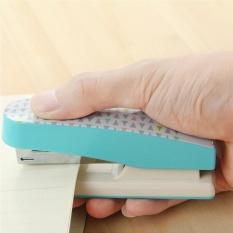 Kreatif Alat Tulis Deli Geometri Stapler Colorful Fashion Stapler Perlengkapan Kantor Sekolah Besar, Ukuran: 12*3.4 Cm, Pengiriman Warna Acak-Intl