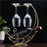Spesifikasi Anggur Kreatif Cups Glasses Hanging Rack Golden Terbaru
