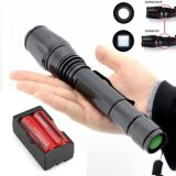 Toko Jual Cree 2500 Lm T6 Xm L Led Senter Torch Light 2 X 18650 Dual Charger