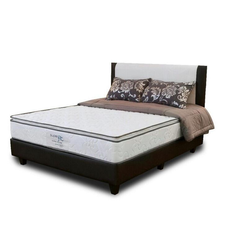 CREOVA Springbed Full Set Comforta Superfit Silver Uk.180