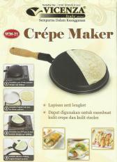Crepe Maker Vicenza / Wajan Kwalik Murah