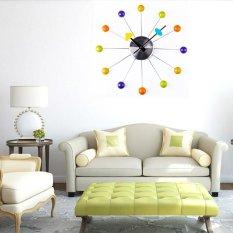 Harga Cricket Wooden Colorful Fashion Jam Dinding Dekorasi Rumah Dapur 3D Jam Dinding Modern Design Flip Clock Yang Murah Dan Bagus
