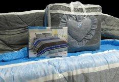 Ulasan Tentang Csa Bedcover Set A2Bs 019B Ukuran 180X200 Biru