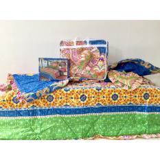 Jual Csa Bedcover Tienna Ukuran 180X200 Biru Online Di Indonesia