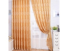 Curtain Jacquard Curtains French Curtain For Living Room Cortains Bedroom Luxury - intl