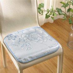 Cushion Breathable Cool Seat Cushion Kursi Cushion Summer Kursi Rotan Ice Silk-Intl