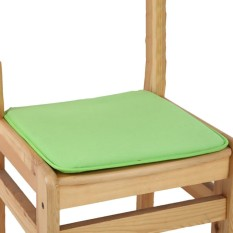 Cushion Office Chair Garden Indoor Dining Seat Pad Tie On Square Foam Patio Uk Green - intl