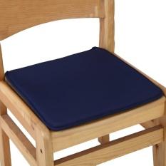 Cushion Office Chair Garden Indoor Dining Seat Pad Tie On Square Foam Patio Uk Navy - intl