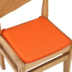 Cushion Office Chair Garden Indoor Dining Seat Pad Tie On Square Foam Patio Uk Orange - intl
